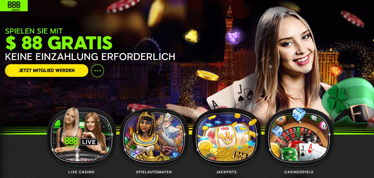 888 Casino Deutschland