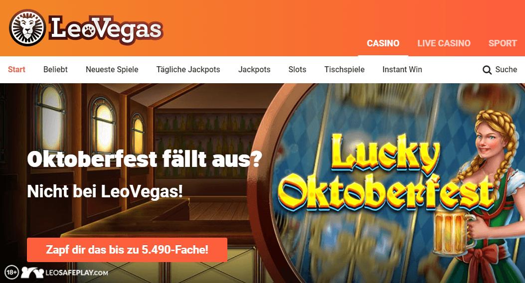 LeoVegas Casino Deutschland | LeoVegas Erfahrungen