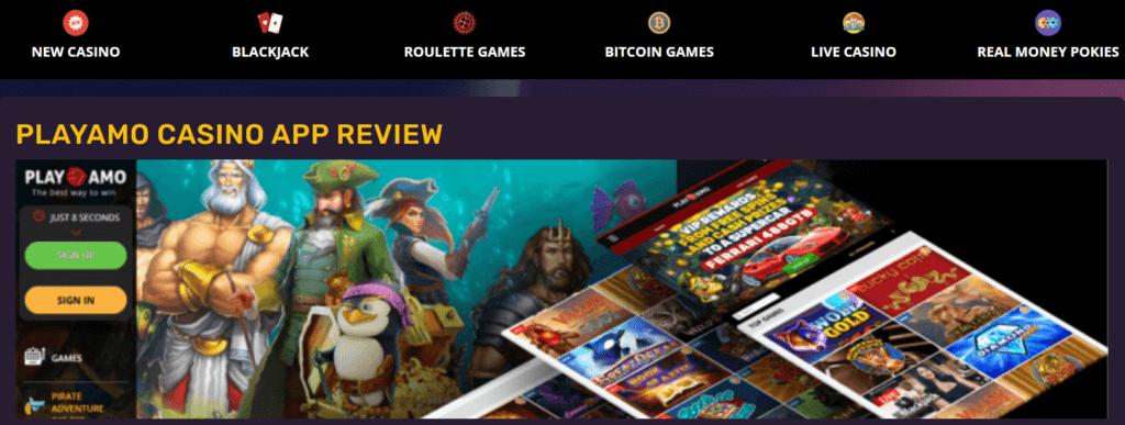 Verwenden Sie die Playamo-App, wenn Sie auf alle fantastischen Slots-Spiele im Playamo Casino Deutschland zugreifen möchten