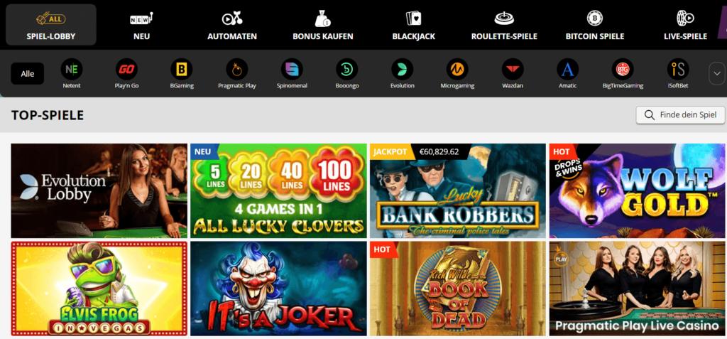 Playamo Casino Germany hat die besten Spielautomaten und eine große Auswahl davon