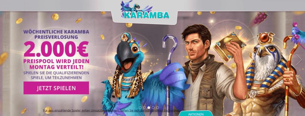 Nutzen Sie alle Karamba Online Casino Boni und versuchen Sie Ihr Glück in diesem erstaunlichen Online Casino. karamba deutschland